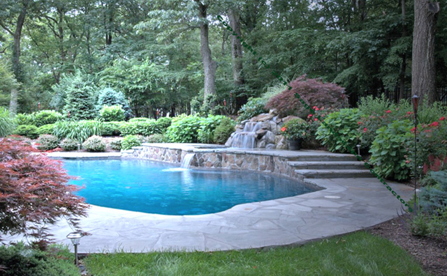 Luxury Outdoor Swimming Pool Construction Fully