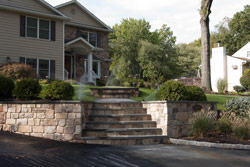 Wall Construction by Sage Landscape Contractors Watchung NJ