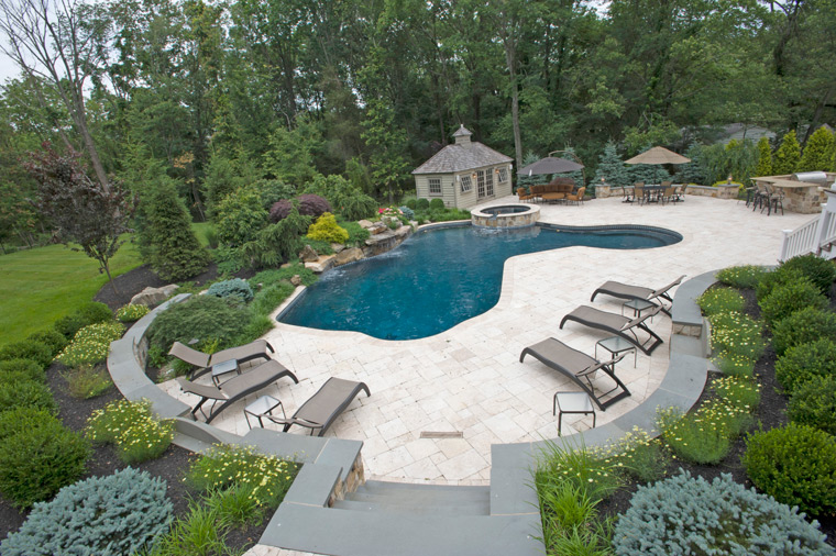 Residential Swimming Pool Construction - Warren and Watchung NJ