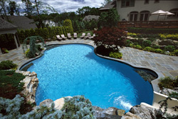 Inground Pools by Sage Landscape Contractors Watchung NJ