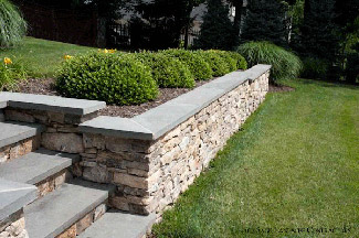 Structural and decorative retaining walls